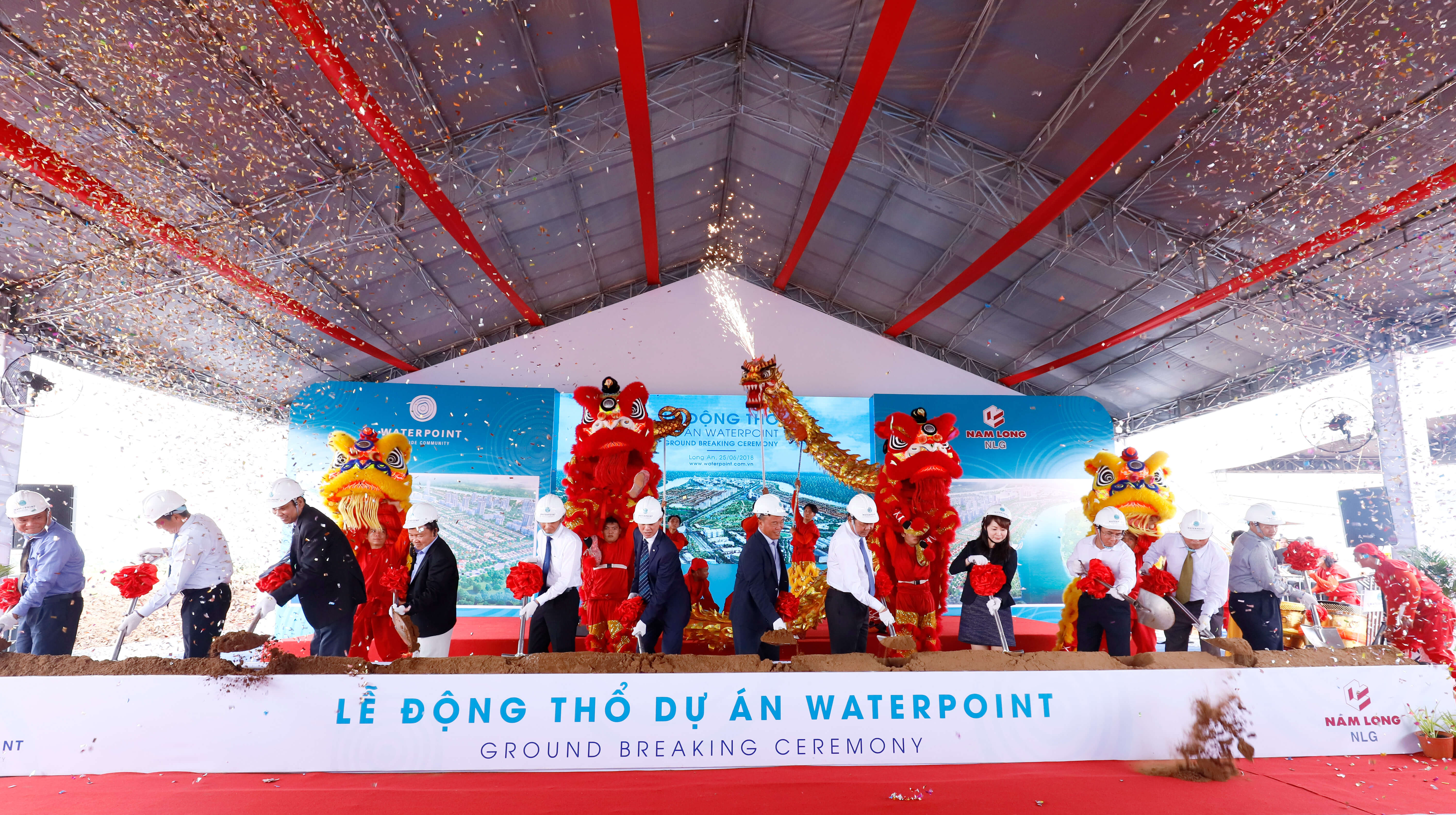 Le dong tho du an Waterpoint