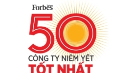 Top 50 Listed Company in Vietnam – voted by Forbes 2018