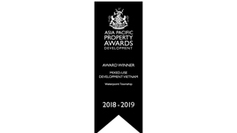 Asia Pacific Property Awards – Waterpoint Township 2018-2019